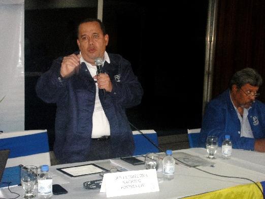 En reunión del FONPRES-CIV con presidentes regionales Ing. Kenic Navarro destacó excelente acogida del  Plan de Salud 2018 por agremiados