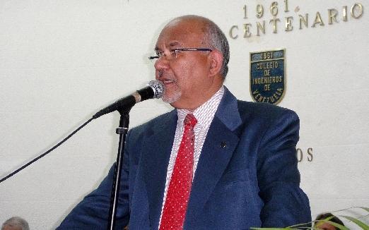 Ing. Enzo Betancourt en acto del 157 aniversario del CIV: Tenemos el  deber de seguir trabajando  para construir al país