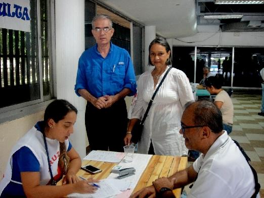 CIV integrado a la comunidad Exitosa Jornada Médica en su sede